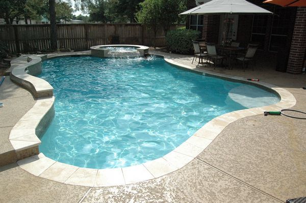Kenny pools gallery free form swimming pools 713 898 for Kenny pool design